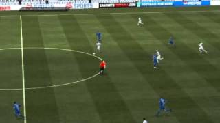 FIFA 11 PC Demo - Tosic longshot vs Dinamo Moskva