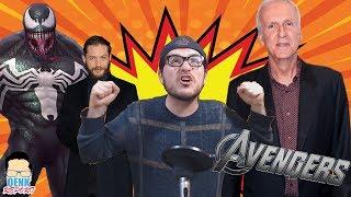 Venom REVELADO - Infinity War: final abierto - James Cameron ataca películas de héroes | QR