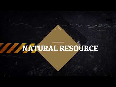 Natural Resources: Water and Soil