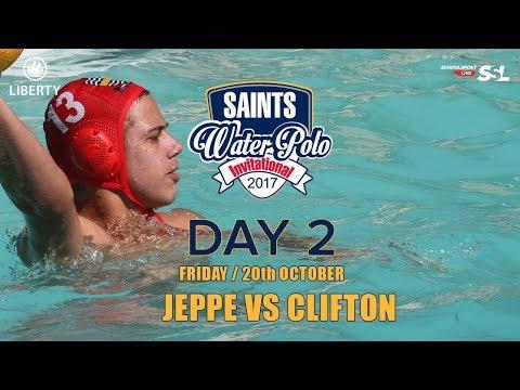 Jeppe vs Clifton: Saints Waterpolo Invitational 20 October 2017 - Day 2