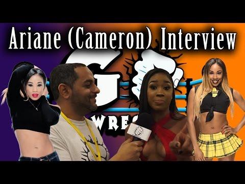 Ariane (Cameron) Interview   GO Pro Wrestling