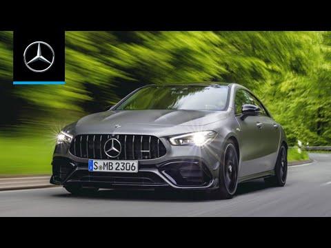 Mercedes présente le 4 cylindres de série le plus puissant au monde