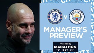 PEP GUARDIOLA PRESS CONFERENCE | CHELSEA V MAN CITY | FA CUP