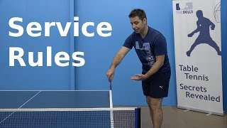 Service Rules | PingSkills | Table Tennis thumbnail