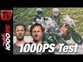 1000PS Test - BMW R 1200 GS gegen KTM 1290 Super Adventure S