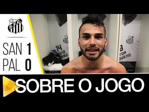 Lucas Lima e Thiago Maia analisam vitória sobre o Palmeiras