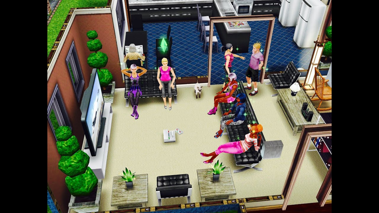 SIMS FREEPLAY PLAYER DESIGNED HOME PRE BUILT HOUSE TOUR YouTube