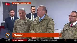 Afrin Operasyonu: Erdoğan Suriye Sınırında