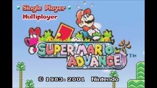 Super Mario Advance (GBA) - Longplay