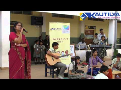 Kautilya Vidyalaya (Top rated CBSE School in Mysore) - Music In My Life