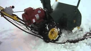 220 Volt electric snowblower
