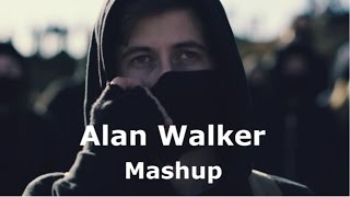 Alan Walker - The Best hits mix. MASHUP (Faded + Sing me to sleep + Alone)