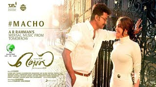 Macho video Songs| Kajal | Vijay | Atlee |Madras Mersal