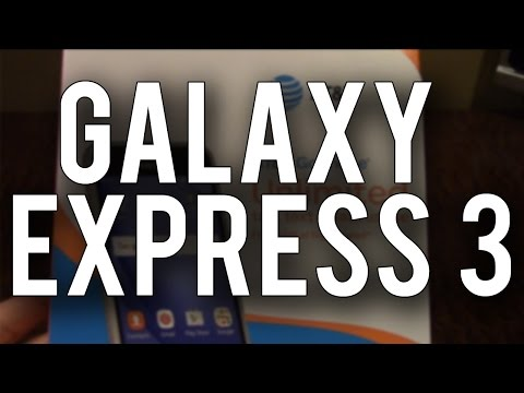 Samsung Galaxy Express 3 - Unboxing & First Impressions