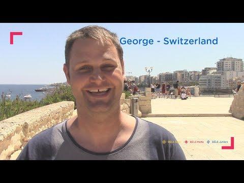 2017 BELS English Language Schools Video Testimonial - George, Switzerland