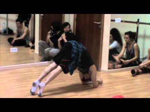 BLAKE MC GRATH IN MALLORCA CON TOP DANCE ACADEMIA