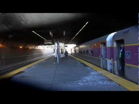 MBTA Commuter Rail, Acela Express and Northeast Regional at Ruggles
