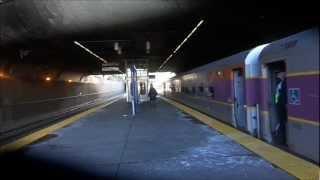 MBTA Commuter Rail, Acela Express and Northeast Regional at Ruggles