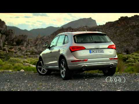 2013 Audi Q5 facelift driving footage