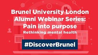 Lockdown Learning - Pain into Purpose - Rethinking Mental Health