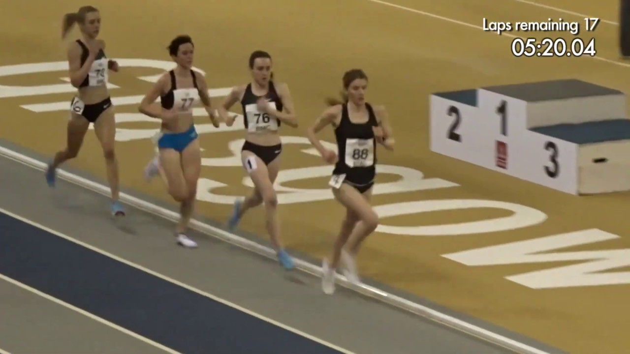 Canadian Womens Indoor 5000m record