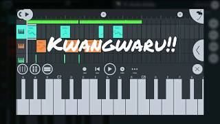 Kwangwaru beat in Violin fillings Harmonize X Diamond Platnumz