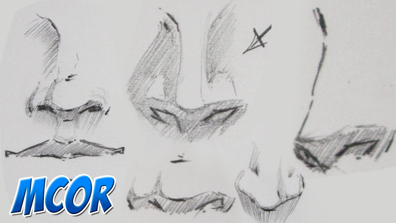 Como Dibujar Manga - La Nariz - YouTube