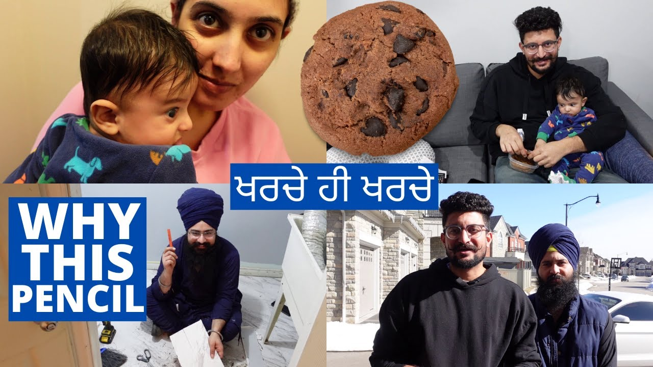 Spent 5000$ in One Day | Sharan Made Cookies | Shopping for Our House
