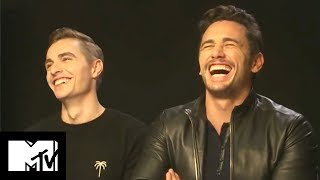 James & Dave Franco Reveal Their CRAZIEST Auditions Ever | MTV Movies