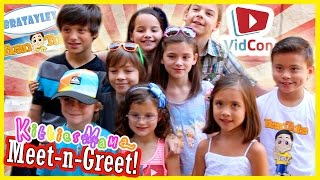 Disneyland meet and greet 2016 bratayley vloggest kittiesmama meet n greet with bratayl m4hsunfo
