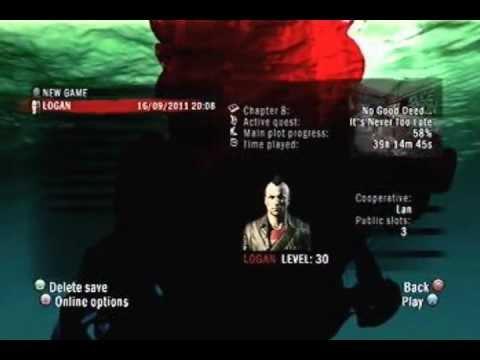 Dead Island Save Corrupt