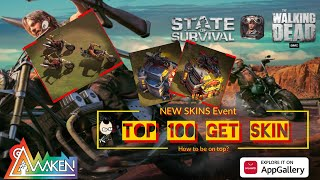 State of Survival - TOP 100 GET SKIN in this NEW SKIN Biker Race Event screenshot 5