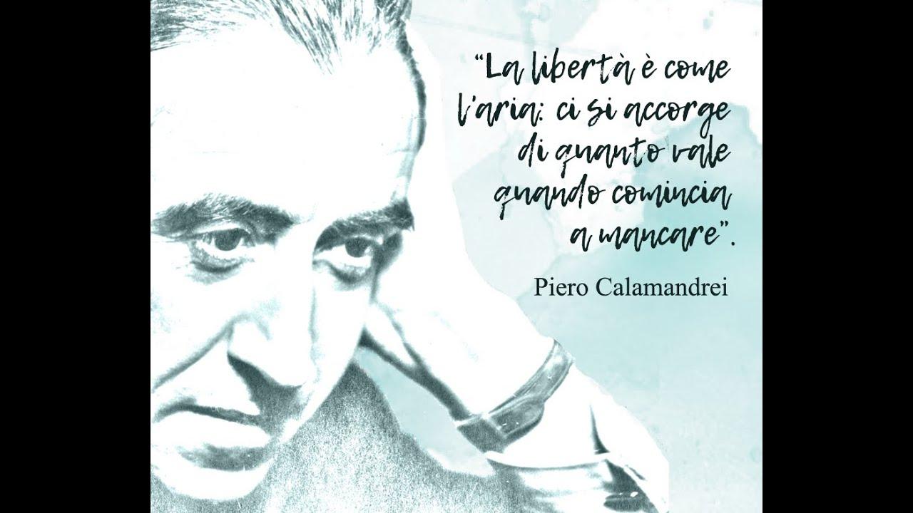 Pietro Calamandrei - Discorso agli studenti - 26 gennaio 1955 ...