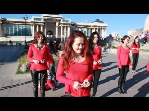 FlashMob Lady's Style Kizomba Mongolia