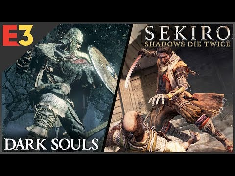 3 Reasons SEKIRO: SHADOWS DIE TWICE Is Different From Dark Souls | Polygon @ E3 2018
