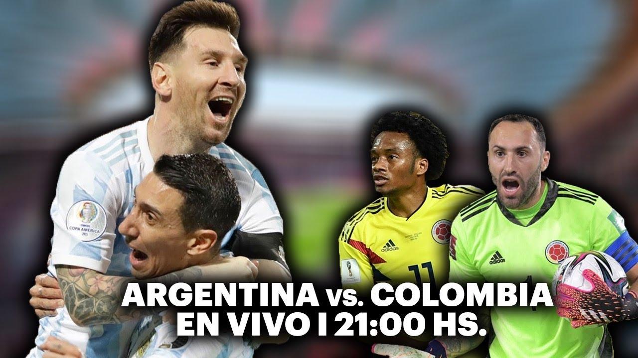 ARGENTINA VS. COLOMBIA ⚽️ VIVILO EN TyC SPORTS | Copa América 2021
