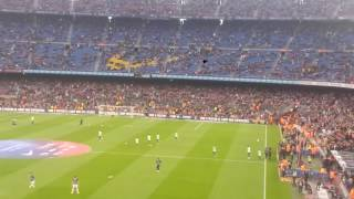 FC Barcelona gegen Real Sociedad 3:2 15.04.2017 Part1 Camp Nou