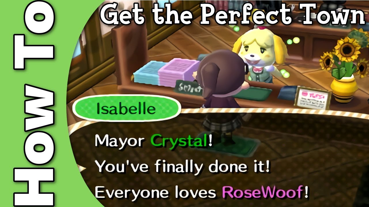 Perfect Town Guide - Animal Crossing: Wild World Guide