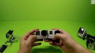 Unboxing GoPro Hero 4 / Распаковка GoPro Hero 4 Black, сравнение с GoPro Hero 3+ и 3