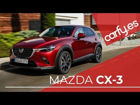 MAZDA CX-3 | Ficha técnica - Review ✅