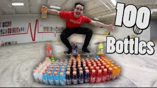 water bottle flip trick shots 2