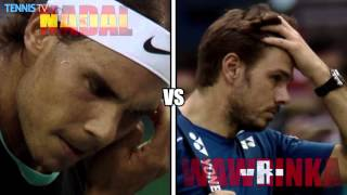 2015 Shanghai Rolex Masters - Quarter-final highlights feat. Nadal & Murray