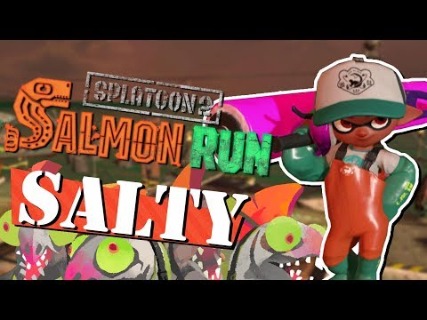 Splatoon 2 - Salted Salmon Run