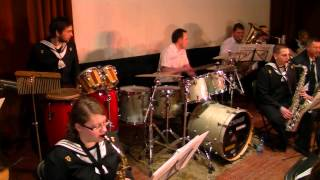 Utwór na perkusję-gra Orkiestra ZSŻŚ w Nakle nad Notecią