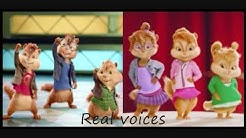 The Girls of Rock'n'Roll - The Chipettes & Chipmunks REAL VOICES