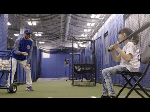 Kris Bryant Hosts His Biggest Fan at Wrigley Field