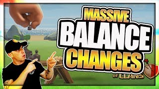 December 2017 Update Balance Changes! Are These for Real?! | Clash of Clans