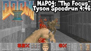 "Doom 2 MAP04: ""The Focus"" Tyson Speedrun in 4:46 (World Record)"