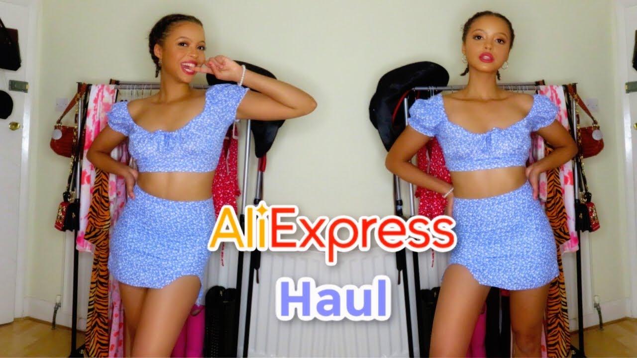 HUGE ALIEXPRESS HAUL | SUMMER 2020 *trendy af*