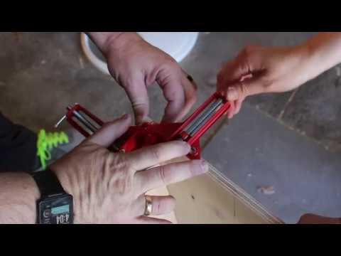 DIY Wooden Dual Bin, Trash Recycle or storage station